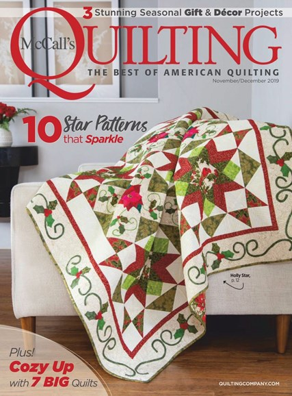 McCall's Quilting Cover - 11/1/2019