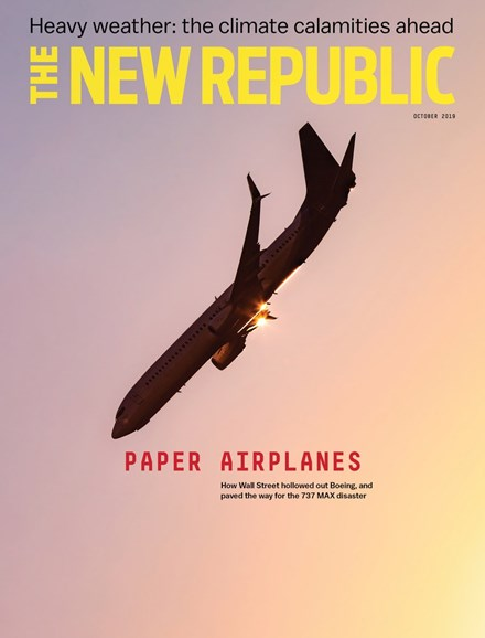 The New Republic Cover - 10/1/2019