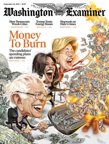 Washington Examiner Cover - 9/24/2019