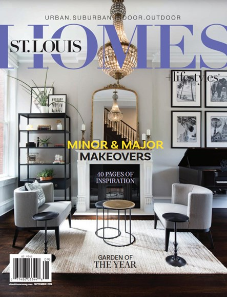 St. Louis Homes & Lifestyles Cover - 9/1/2019