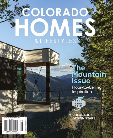 Colorado Homes & Lifestyles Cover - 8/1/2019