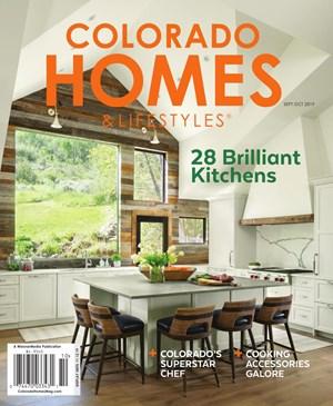 Colorado Homes & Lifestyles Magazine | 9/2019 Cover