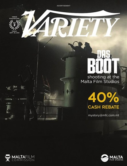 Variety Cover - 8/30/2019