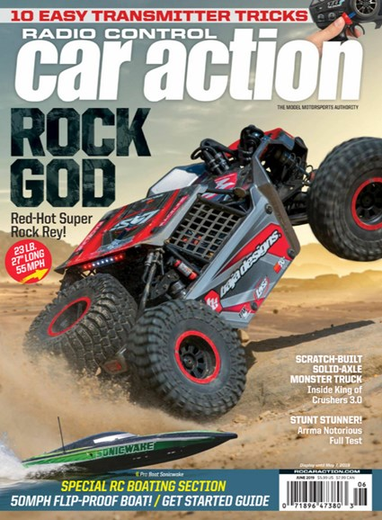 Radio Control Car Action Cover - 6/1/2019