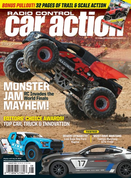 Radio Control Car Action Cover - 8/1/2019