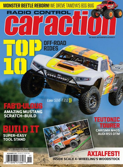 Radio Control Car Action Cover - 11/1/2019