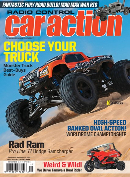 Radio Control Car Action Cover - 10/1/2019