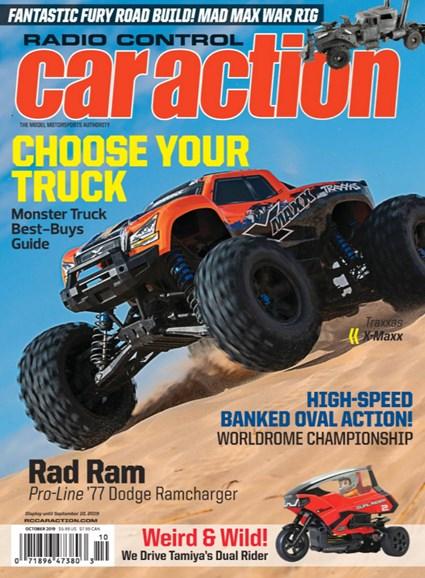 Radio Control Car Action Cover - 10/1/2019