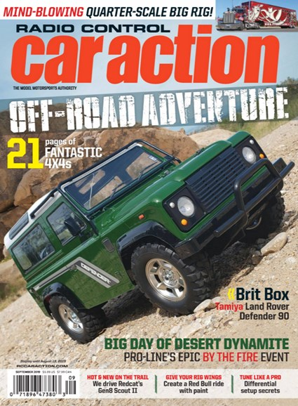 Radio Control Car Action Cover - 9/1/2019