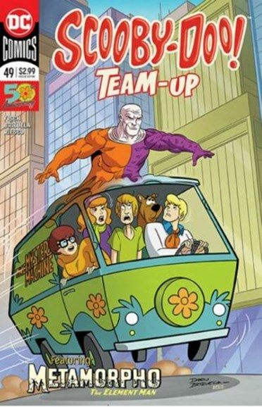 Scooby- Doo Team Up Cover - 9/1/2019
