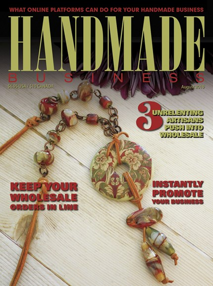 Handmade Business Cover - 8/1/2019