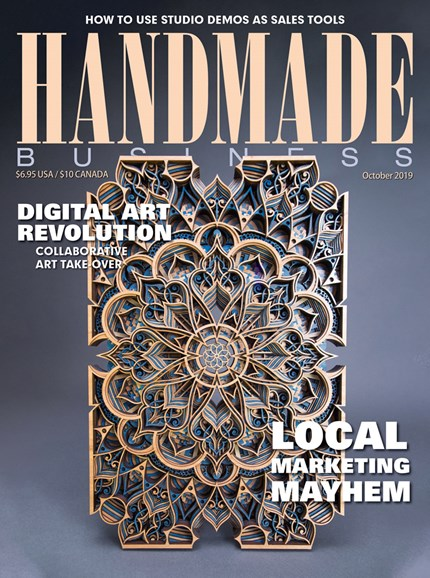 Handmade Business Cover - 10/1/2019