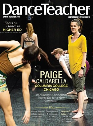 Dance Teacher Magazine | 9/2019 Cover