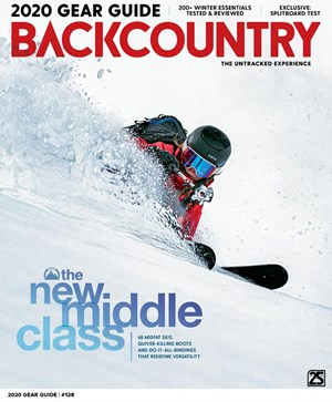 Backcountry Magazine | 9/2019 Cover