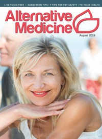 Alternative Medicine Magazine   8/2019 Cover