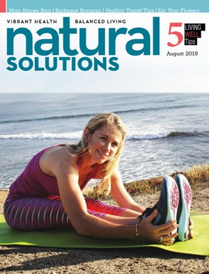Natural Solutions Magazine | 8/2019 Cover