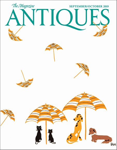 The Magazine Antiques Cover - 9/1/2019