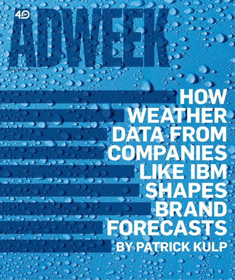 Adweek Cover - 9/16/2019