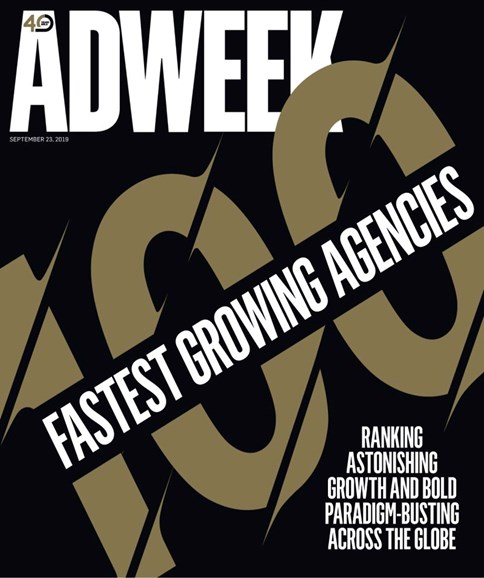 Adweek Cover - 9/23/2019