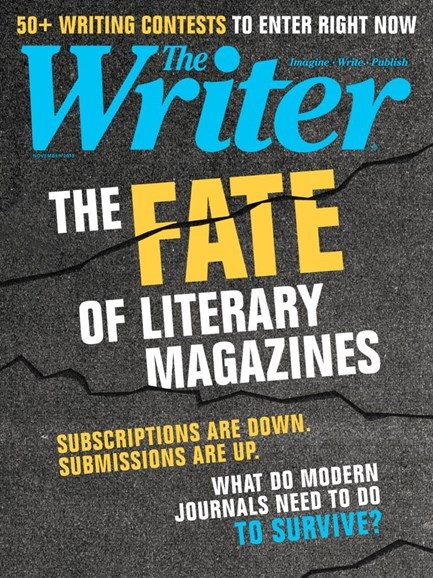 The Writer Cover - 11/1/2019