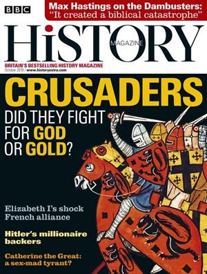 BBC History Magazine | 10/2019 Cover