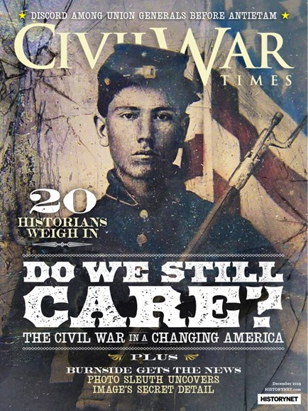 Civil War Times Cover - 12/1/2019