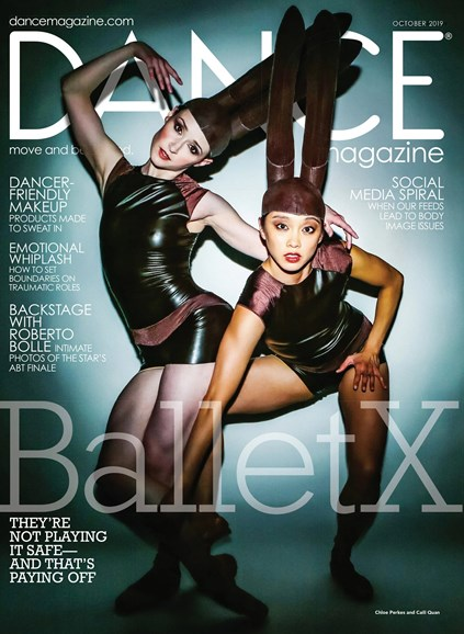 Dance Magazine Cover - 10/1/2019