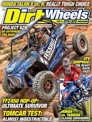 Dirt Wheels Magazine | 10/2019 Cover