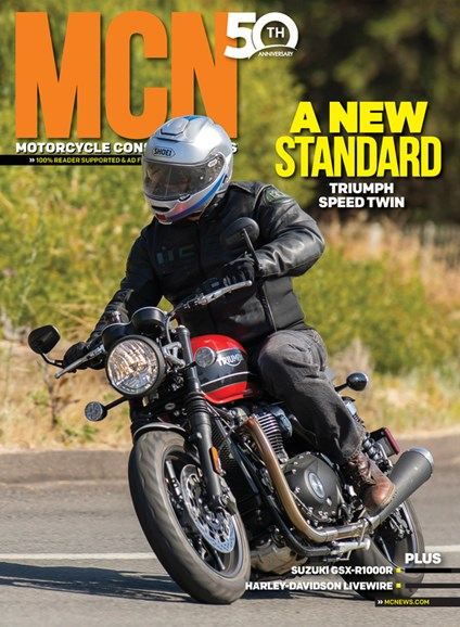 Motorcycle Consumer News Cover - 9/1/2019