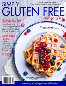 Simply Gluten Free | 7/2019 Cover