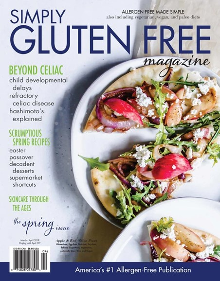 Simply Gluten Free Cover - 3/1/2019