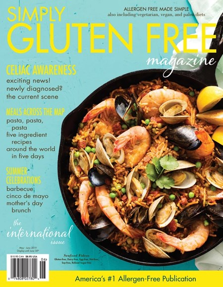 Simply Gluten Free Cover - 5/1/2019