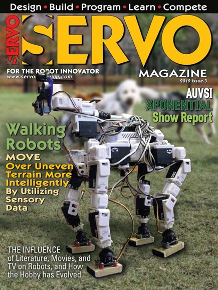 Servo Magazine Cover - 9/1/2019