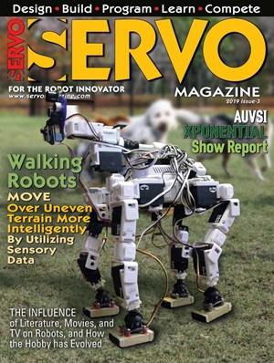 Servo Magazine | 9/2019 Cover