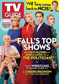 TV Guide Magazine | 9/30/2019 Cover
