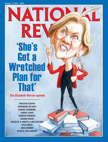 National Review Cover - 10/14/2019