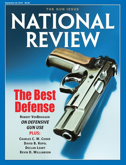 National Review Cover - 9/30/2019