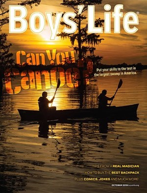 Boy's Life Magazine | 10/2019 Cover