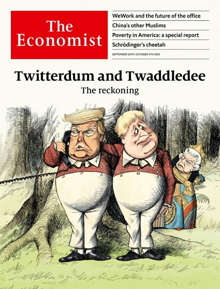 The Economist Cover - 9/28/2019