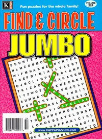 Find and Circle Jumbo Magazine | 1/2025 Cover