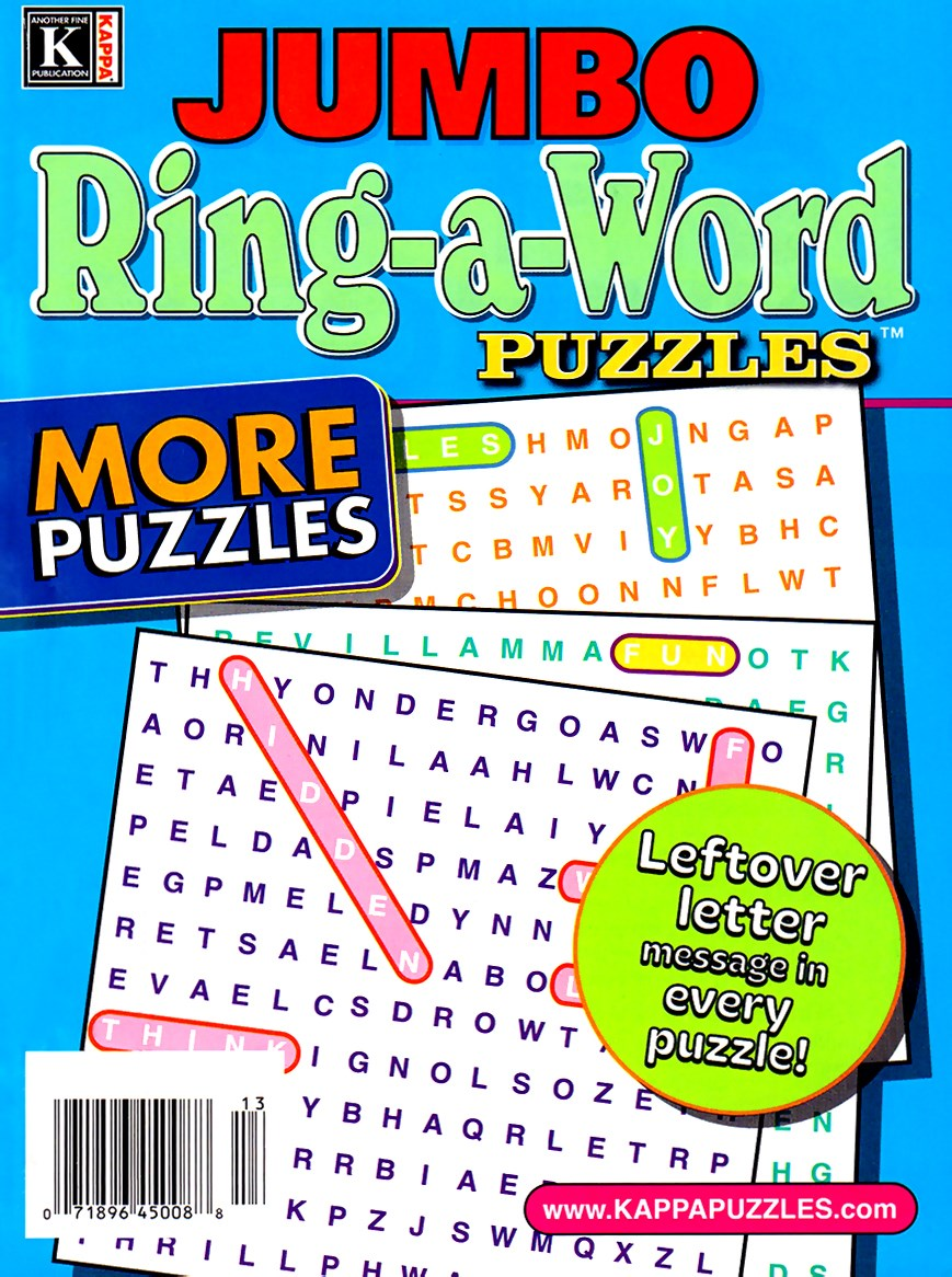 Best Price for Jumbo Ring-a-Word Puzzles Magazine Subscription