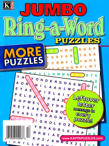 Jumbo Ring-a-Word Cover - 1/1/2025
