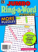 Jumbo Ring a Word Magazine 1/1/2025