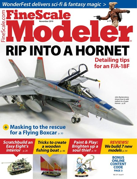 Finescale Modeler Cover - 11/1/2019