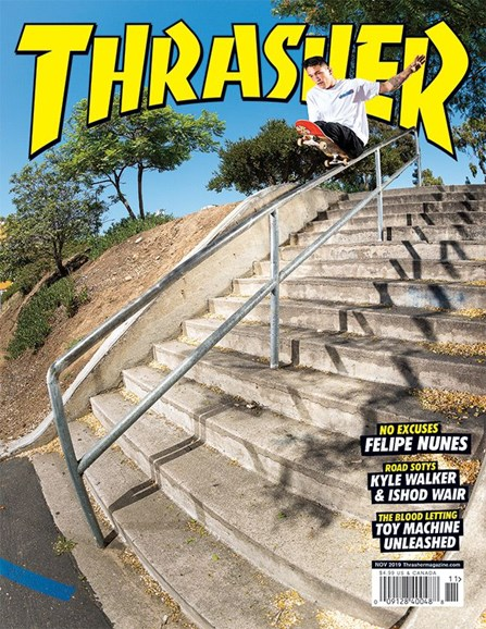 Thrasher Cover - 11/1/2019