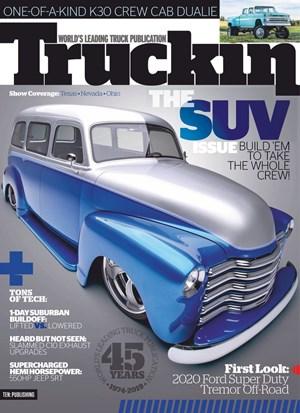 Truckin' Magazine   12/2019 Cover