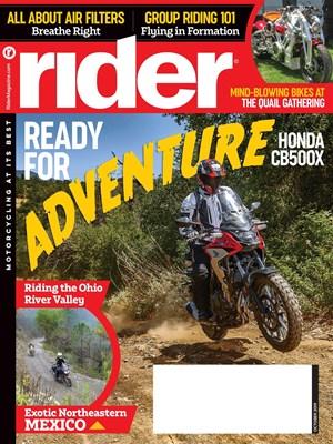 Rider Magazine | 10/2019 Cover
