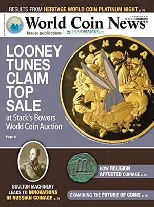 World Coin News Magazine   10/2019 Cover
