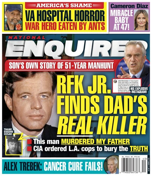 National Enquirer Cover - 10/7/2019