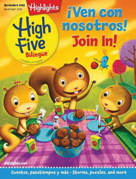 Highlights High Five Bilingue Cover - 11/1/2019